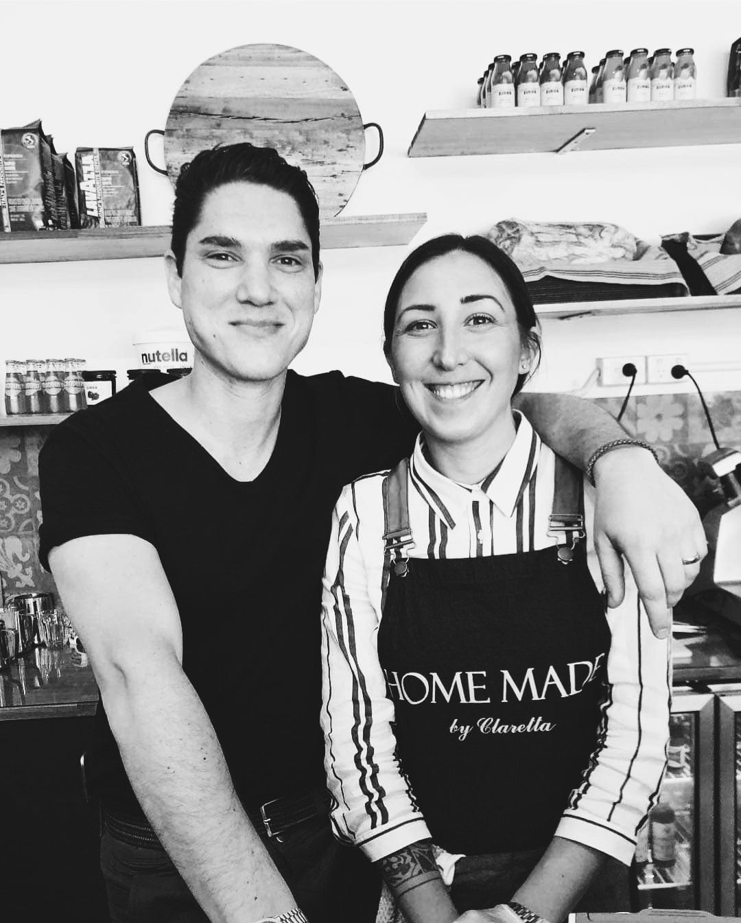 A photo of stef and clara from I Pugliesi Cafe